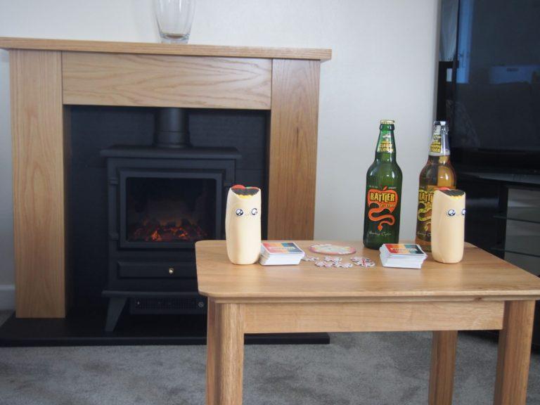 Trevalgan Farm - The Hayloft - Coffee table